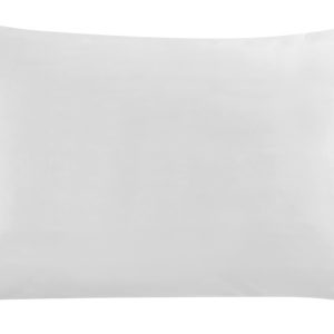 taie oreiller rectangulaire blanche