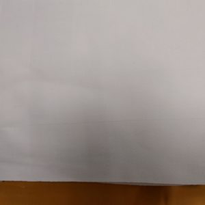 Serviettes de table neuves bandes satin 50 x 50 (lot de 6)